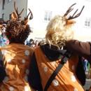 Turnerinnen beim Unsinnigen Donnerstag in Reutte