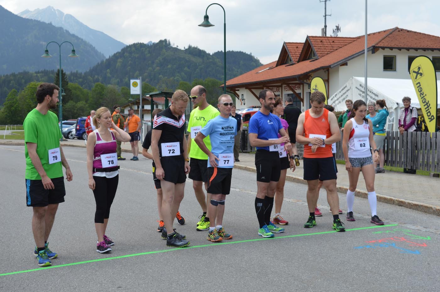 Bilder vom MTB Bergsprint und Berglauf