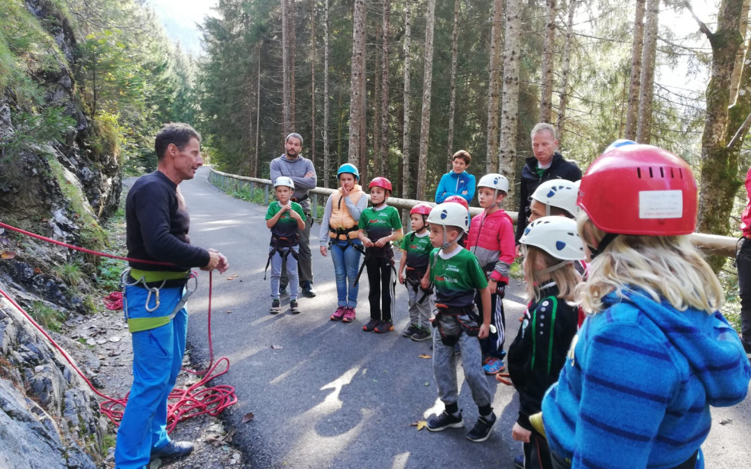 Klettern mit den SVP Kindern